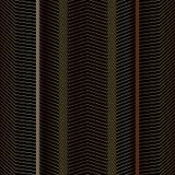 Безшовный абстрактный зигзаг выравнивает картины вектора Фон моды вектора в винтажном стиле Стоковая Фотография RF