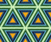 Безшовный абстрактный треугольник кроет предпосылку черепицей Стоковые Изображения