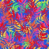 безшовный вектор текстуры бесконечно яркая картина Шаблон лета Иллюстрация штока
