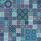 безшовный вектор текстуры Красивая мега картина заплатки для дизайна и мода с декоративными элементами Стоковое Изображение