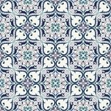 безшовный вектор текстуры Красивая покрашенная картина для дизайна и мода с декоративными элементами Стоковая Фотография RF