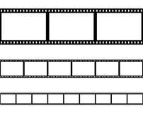 Безшовный вектор filmstrip прокладки фильма Стоковые Фотографии RF
