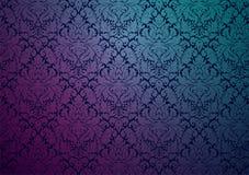 Безшовный винтажный дизайн обоев Стоковое Изображение