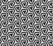 Безшовный геометрический дизайн предпосылки вектора картины Стоковое Изображение RF