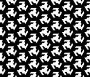 Безшовный геометрический дизайн предпосылки вектора картины Стоковое Изображение