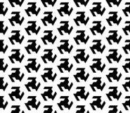 Безшовный геометрический дизайн предпосылки вектора картины Стоковая Фотография