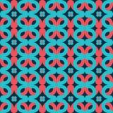 Безшовный геометрический орнамент Стоковые Изображения