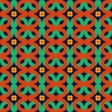 Безшовный геометрический орнамент Стоковая Фотография
