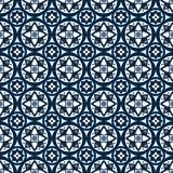 Безшовный геометрический орнамент Стоковые Фото