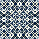 Безшовный геометрический орнамент Стоковые Фотографии RF
