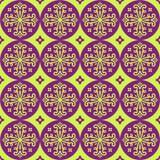 Безшовный геометрический орнамент Стоковая Фотография RF