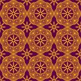 Безшовный геометрический орнамент стоковое изображение