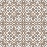 Безшовный геометрический орнамент Стоковое Изображение RF
