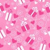 Безшовный день валентинки картины бесплатная иллюстрация