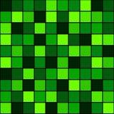 Безшовный зеленый цвет картины Стоковые Изображения RF