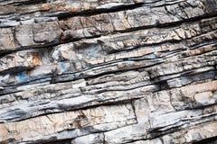 Безшовный конец-вверх текстуры камня утеса Стоковое Фото