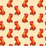 безшовный кран красного цвета картины Стоковое Изображение RF