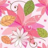 Безшовный красивый цветочный узор Стоковое Изображение