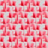 Безшовный красный свет пинка картины waffle-weave - серый цвет Стоковая Фотография RF