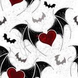 Безшовный на хеллоуине Стоковое Изображение RF