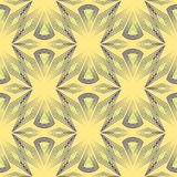 Безшовный орнамент картины с стилизованным backg геометрических элементов Стоковое Изображение RF