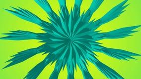 Безшовный плавать и Moving абстрактная геометрическая анимация бесплатная иллюстрация