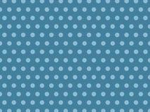 Безшовный свет - голубая точка на темной предпосылке иллюстрация вектора