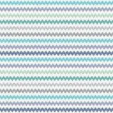 Безшовный серый цвет голубого зеленого цвета картины шеврона битника Стоковое Изображение RF