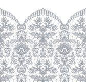 Безшовный серый шнурок Стоковая Фотография RF