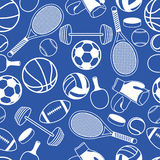 Безшовный спорт картины Стоковые Фотографии RF