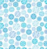 Безшовный с круглыми орнаментами шнурка Стоковые Фото