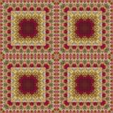 Безшовный цветочный узор, картина маслом Стоковые Фотографии RF