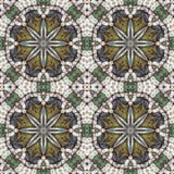 Безшовный цветочный узор, картина маслом Стоковая Фотография RF