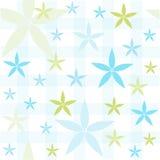 Безшовный цветочный узор, обои Стоковые Изображения RF