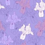 Безшовный цветочный узор Стоковая Фотография RF