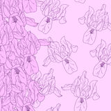 Безшовный цветочный узор Стоковое Изображение