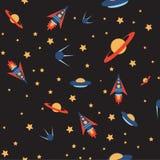 Безшовный цвет космоса Стоковая Фотография RF