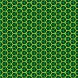 Безшовный шестиугольный сот наслоил предпосылку текстуры картины куба геометрическую иллюстрация штока
