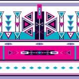Безшовный этнический племенной орнамент картины Стоковые Фото