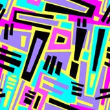 Безшовный brushpen текстура grunge картины doodle ткани Стоковые Изображения RF