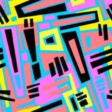 Безшовный brushpen текстура grunge картины doodle ткани Стоковая Фотография