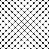 Безшовный monochrome округлил квадратную предпосылку вида решетки - графический дизайн от раскосных квадратов бесплатная иллюстрация