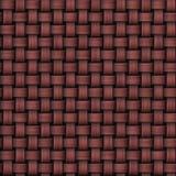 Безшовным абстрактным связанная marsala текстура мешковины Стоковое Изображение RF