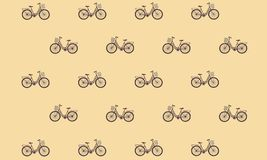 Bicycle pattern in color. Background. Background for web design. stock illustration
