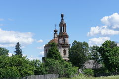 Бездействующая православная церков церковь Стоковое Изображение RF