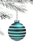 Безделушка и рождественская елка Стоковая Фотография RF