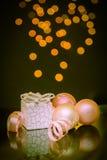 Безделушки и подарок рождества Стоковое Фото