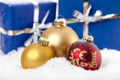 Безделушки рождества Стоковое фото RF