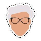 Безликое изображение значка человека Стоковые Изображения
