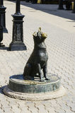 ` Бездомной собаки ` скульптуры Moneybox Стоковое Изображение